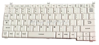 For GE Healthcare Ultrasound Keyboard LOGIQ Book XP PRO White English US