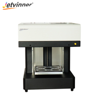 Jetvinner Upgraded 4 Cups Art Selfies Coffee Printer Art Latte Print Machine for Cake Pizza Bread Cookie