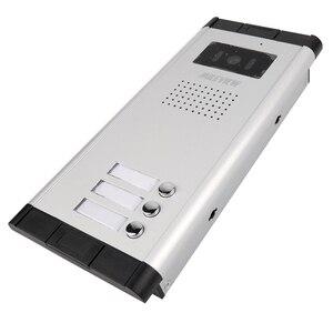 """Image 5 - ใหม่7 """"หน้าจอสีวิดีโอIntercom Doorbellระบบสำหรับ2/3/4บ้านครอบครัวในสต็อกจัดส่งฟรี"""