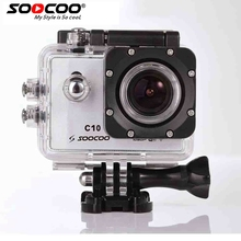 Soocoo c10 спорт камера wifi 1080 P @ 30fps 170 градусов широкоугольный объектив ntk96655 водонепроницаемый д. в. действий камеры экшен-камера