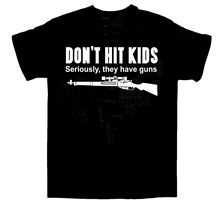 2019 Funny DonT Hit Kids T-Shirt / Guns Sniper Cod Riffle Xmas All Sizes Double Side Unisex Tee