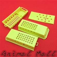 30 pcs Bee Feeding Device Prisoners Wang cage Bee isolation tools Transport House Yellow Power cut honey knife Honey