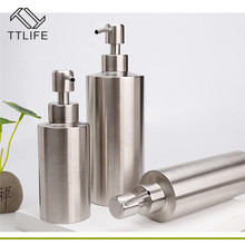 TTLIFE High Quality Stainless Steel Liquid Soap Dispenser Hand Sanitizer In Emulsion Bottle Bathroom Fixture Hardware