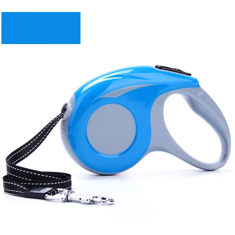 3M 5M Durable Dog Leash Automatic Retractable Dog Leash Extending Puppy Walking Leads Traction Rope Belt Pet Leashes in Leashes from Home Garden