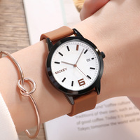 womens watch silicone quartz Disney brand ladies watches waterproof casual woman wristwatches brown black white Citizen movement