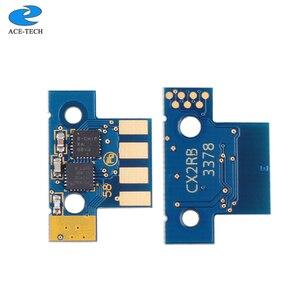 Image 3 - NA version 80C10K0 80C10C0 80C10M0 80C10Y0 Toner Chip für Lexmark CX310 CX410 CX510 1K drucker Patrone