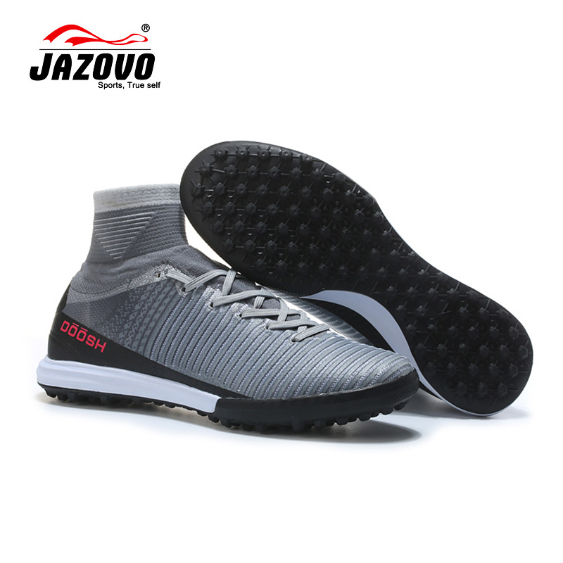 2017 Jazovo Soccer Shoes Sport Superfly IC Football Boots Cushion Waterproof Sneakers Light Weight Size39-45 dr eagle original superfly football boots man football shoes with ankle soccer boots footbal shoes sock size 38 45 sneakers