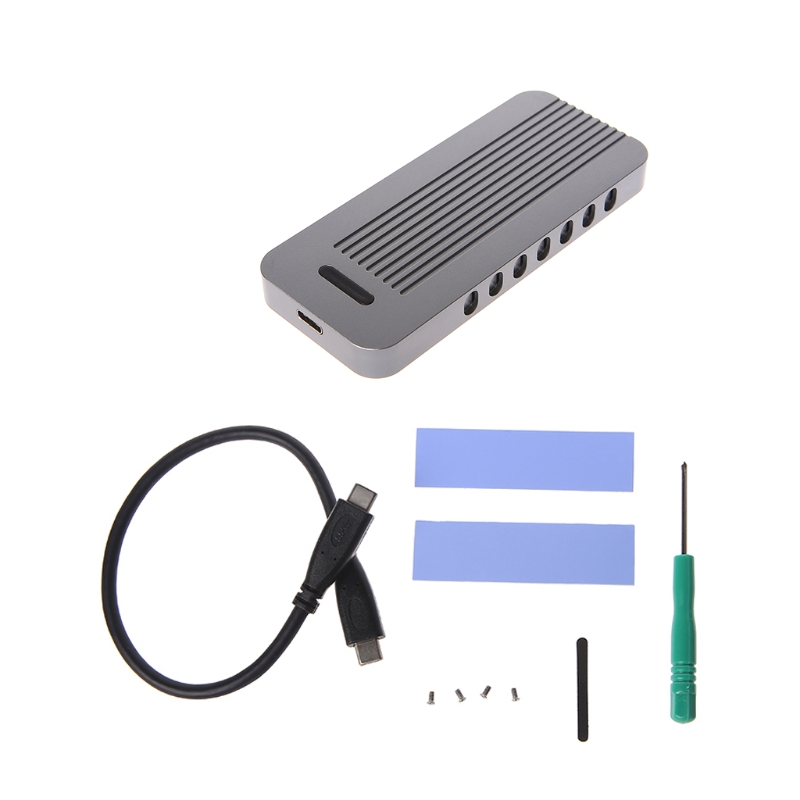 Type C USB 3.1 To NVME PCI E HDD Enclosure SSD Hard Disk Drive Connector Box