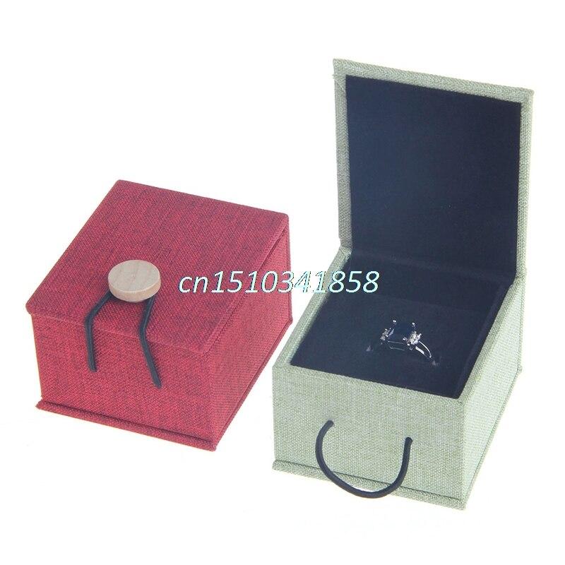 Perfect Fashion Engagement Wedding Earring Ring Pendant Jewelry Display Storage Box  Gift