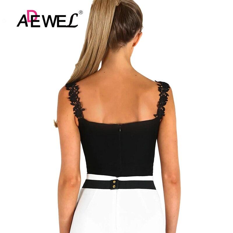 Black-Crochet-Plunge-Bodysuit-LC32221-2-3