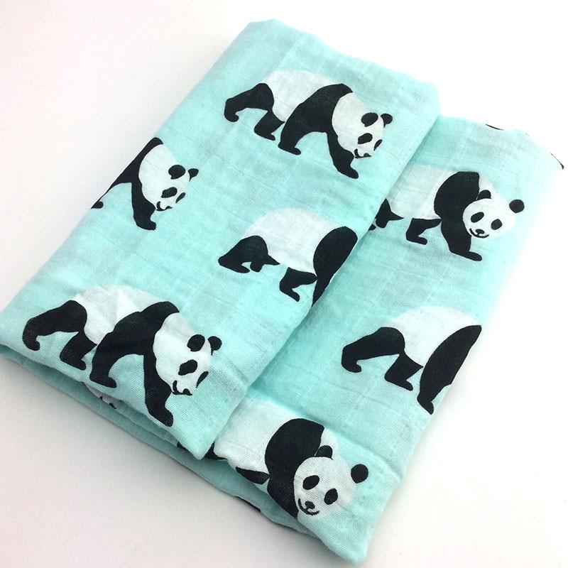 Новинка; хлопковое детское одеяло для новорожденных; мягкое детское одеяло из органического хлопка; муслиновое Пеленальное Одеяло для кормления; тканевое полотенце; шарф; детские вещи - Цвет: 16