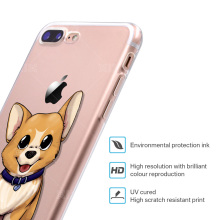High Quality Silicone iPhone Cases with Dog Designs