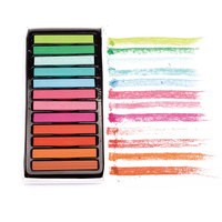 12 Colors Multi Temporary Hair Dye Dyeing Soft Pastel Chalk Hair Chalk Highlights Non Toxic Crayon