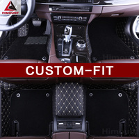 Custom made car floor mats for Peugeot 301 307 CC 307SW 508 2008 3008 4008 5008 high quality luxury all cover carpet rug liners