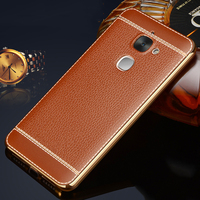 Luxury High Quality Plating Design Soft TPU Cover Case For Letv Leeco Le 2 X620 Le
