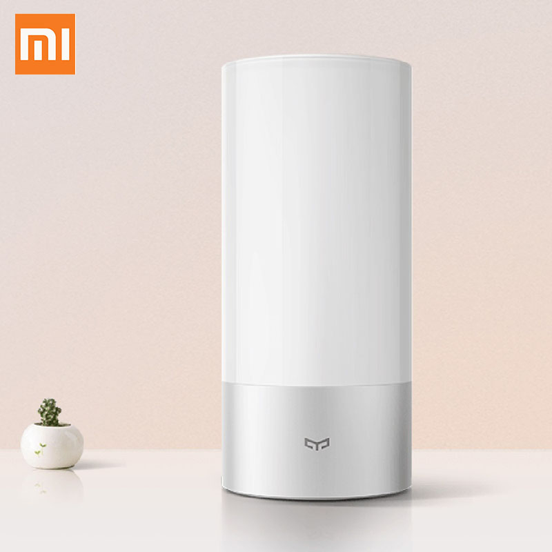 Xiaomi Mijia Yeelight LED Bedside Lamp Table Desk Smart Indoor Light 16 Million Touch Control Remote Bluetooth Wifi Night light|Smart Remote Control| |  - title=