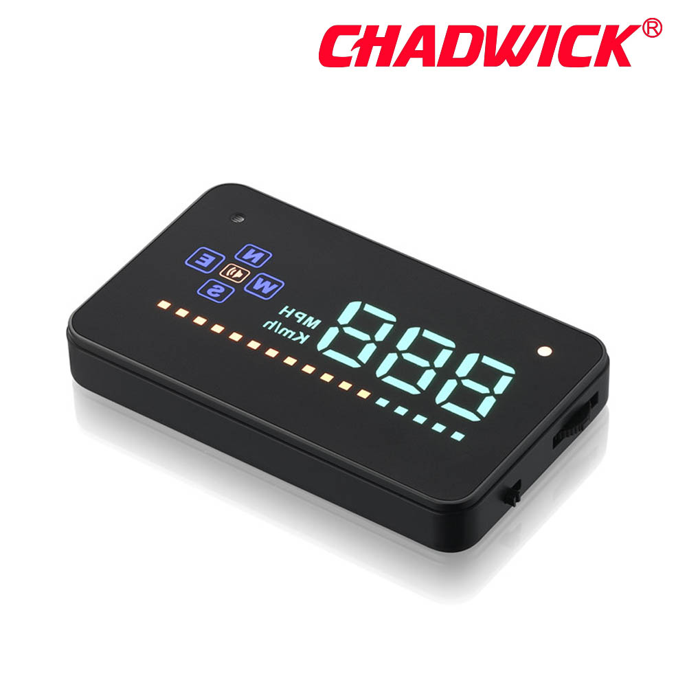Image 5 - HUD Digital GPS Speedometer Head Up Display Auto Windshield Projector Electronics Car Speed Projector CHADWICK A2 accessories-in Head-up Display from Automobiles & Motorcycles