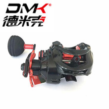 hot deal buy dmk baitcasting reel 7+1bb/7.0:1/8kg offshore lure fishing wheel 2th magnetic brake system carretilha pesca moulinet round coil