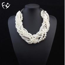 twist Luxury collarbone hand-woven
