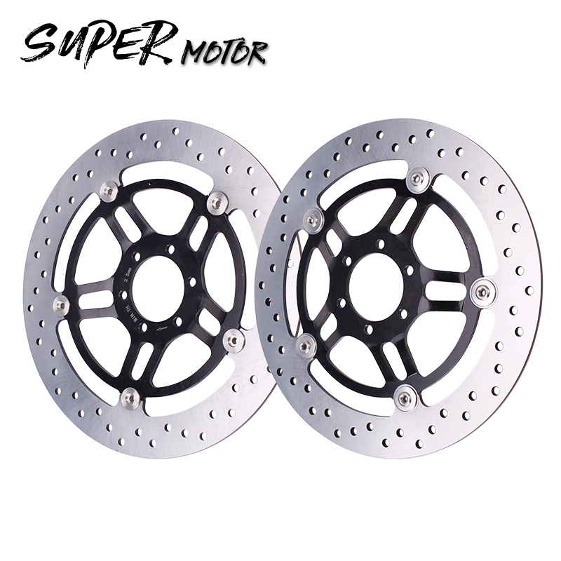 Motorcycle Accessories Front Brake Disc Rotor Plate Brake Disks For Honda Hornet 250 Hornet250 Hornet250 CB250 125cc cbt125 carburetor motorcycle pd26jb cb125t cb250 twin cylinder accessories free shipping