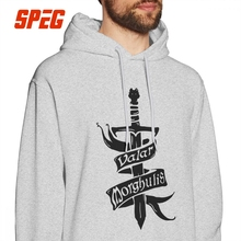 Game Of Thrones Hoodies Arya Stark Valar Morghulis Men's Funny Hooded Tops 100% Cotton Graphic Hooded Sweatshirt цена и фото