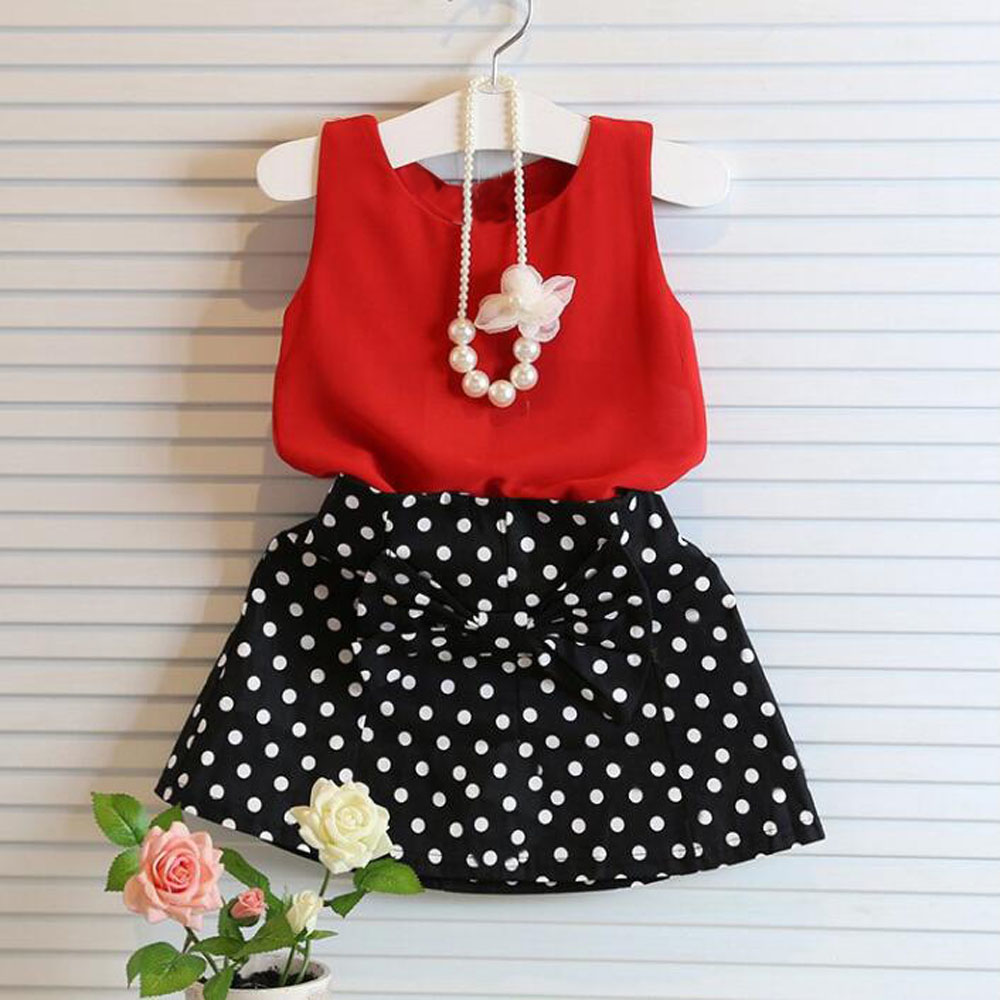 цена New summer girl temperament dot chiffon suit chiffon blouse shirt polka dot dress