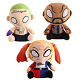 3pcs/set New Movie Funko Mopeez Suicide Squad Joker Deadshot Harley Quinn Plush Figure Toy