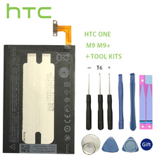 Original HTC BOPGE100 B0PGE100 Battery for ONE M9 M9+ M9W One Plus M9pt Hima Ultra 0PJA10 0PJA13 Battery+Tools +Stickers