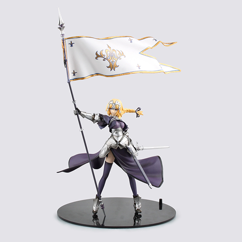 Huong Anime Figure 20 CM Fate/Apocrypha Jeanne d'Arc Saber Lily PVC Action Figure Collectible Toy Model northern europe old master cross seven chakra scepter cosmic energy crystal pendant marriage love career fortune official career