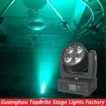 2016 Высокое Качество Нового Супер Луч 4x20 W RGBW 4IN1 CREE Светодиоды LED Луч Мыть Перемещение Головного Света На Рождество Лазерный Луч Проектора