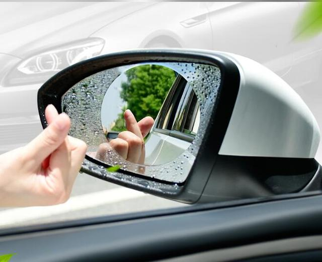 Car Styling Waterproof Film For Rearview Mirror Stickers For