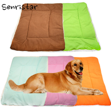 Pet Soft Flannel Cotton Dog Bed Mat for Small Medium Large Dogs Sleep Blanket Warm Cushion Puppy Cats Breathable Pad Fleece Beds