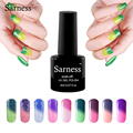 sarness 1pc 8ml Temperature Change Nail Gel 29 Colors Thermo Varnish Mood Color UV Gel Varnish Soak Off Foil Adhesive