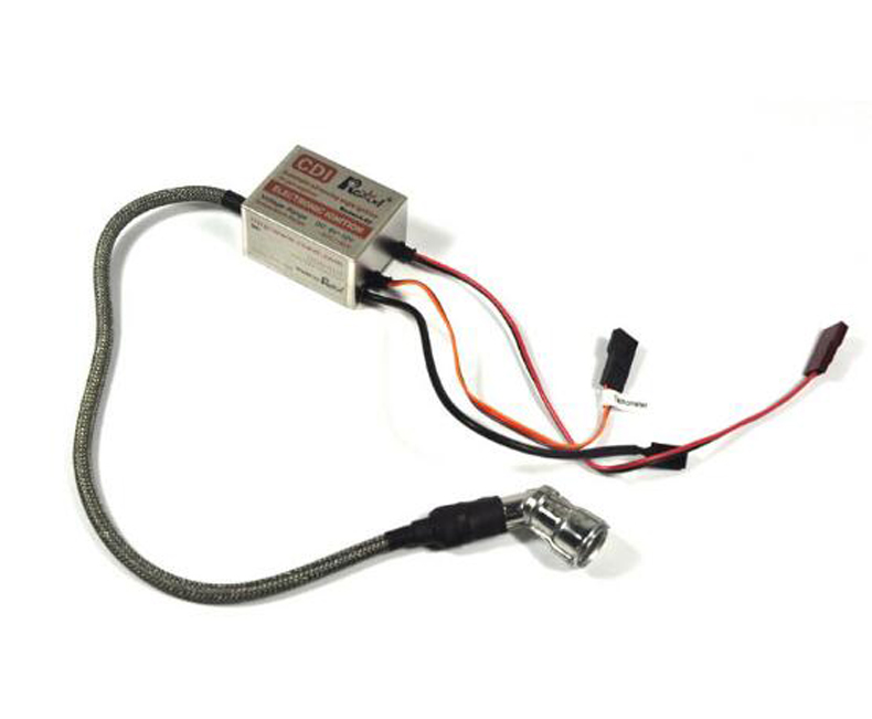 New Arrival Rcexl Single Cylinder CM6 120 Degree 6-10mm Igniter Automatic Advancing Angle Ignition For RC Hobby Engine Accessory rcexl lv type twin ignition for ngk cm6 10mm 90 degree a 02 6v 12v 622a