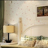 Wall Stickers Home Decor Pink Wallpaper Eco Friendly Wallpaper Non Woven Wallpaper Pink Bedroom Wallpaper Child