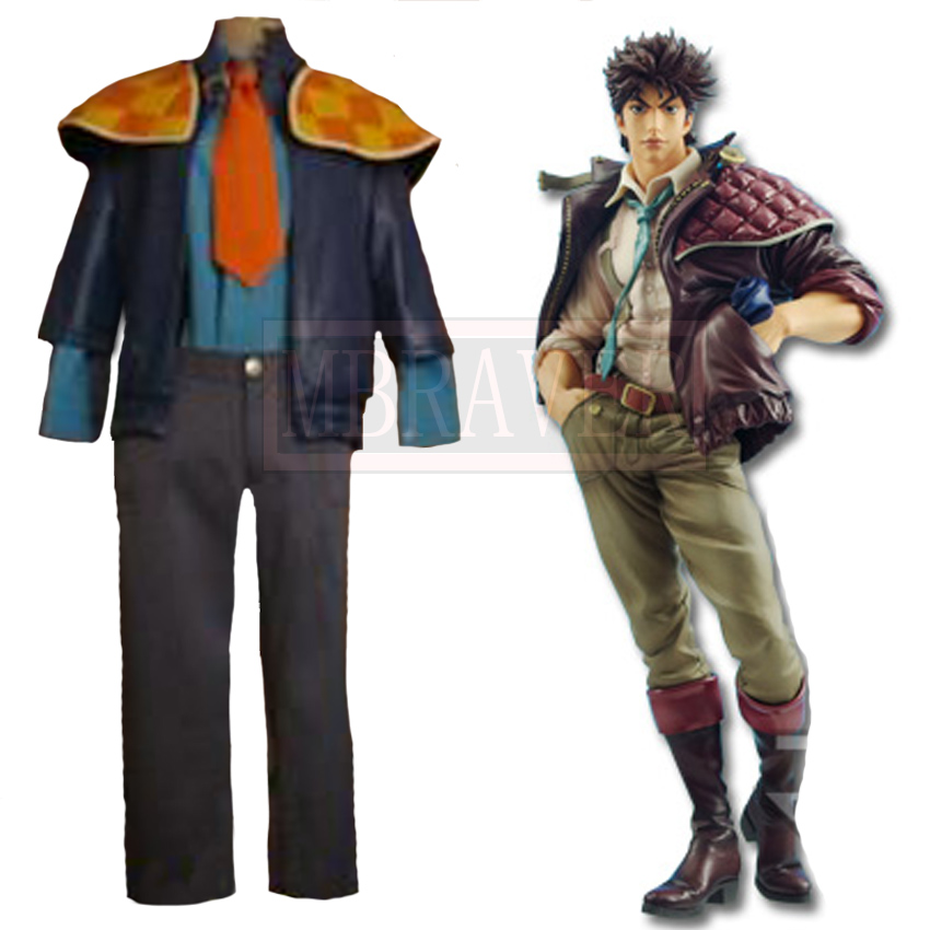 JoJo\'s Bizarre Adventure Joseph Joestar Cosplay Costume Custom Made for Halloween and Christmas-in Anime Costumes from Novelty & Special Use on ...