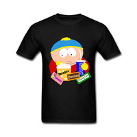 Fashion Newest Top Tee Mens 2017 Various Colors Funny Cotton South Park Cartman I Am Not