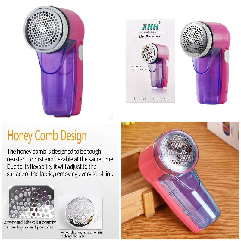 Suit Fabric Sweater Defuzzer Fabric Shaver Remover Rechargeable Clothes Lint Remover@LS shiyu syz 779 rechargeable lint remover cleaner w brush deep purple pink 220v