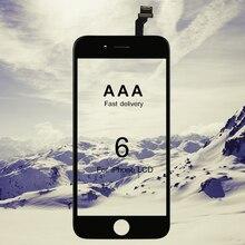 20 pçs/lote grau aaa 4.7 polegada para iphone 6 lcd tela de toque digitador assembléia no telefone móvel lcds substituição display