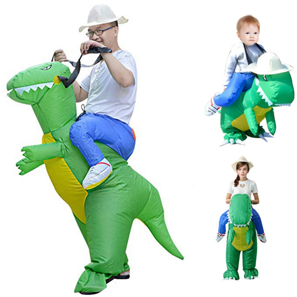 Halloween Costume Holiday Carnival Costume Women Dinosaur Cowboy Inflatable Costumes Funny Dress Animal Cosply Party Supplies