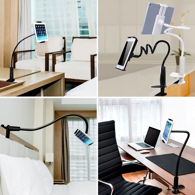 Universal Phone Holder Long Arm Lazy Bed Desktop 360 Degree Flexible Arm Tablet Holder for iPad Mini Pad for iphone 6