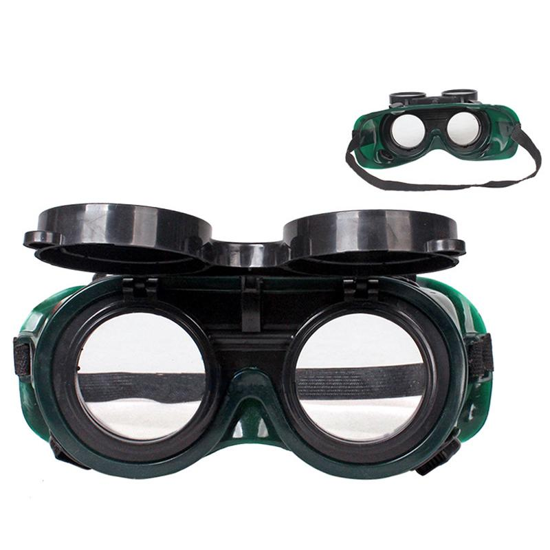 Double  gas welding argon arc welding safety  glasses eye labor strike goggles welder protection for head durable ajustable cyber goggles steampunk glasses vintage retro welding punk gothic victorian durable goggles glasses sunglasses 2016 hot sale