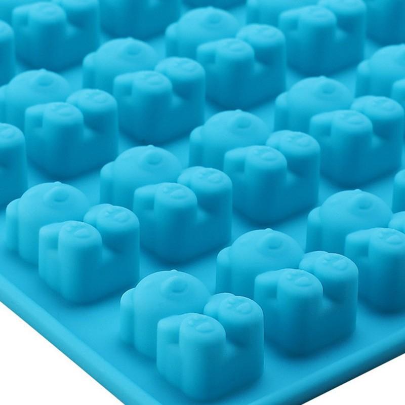 Silikoonvorm 53 karukese kujulise jää või kommide tegemiseks