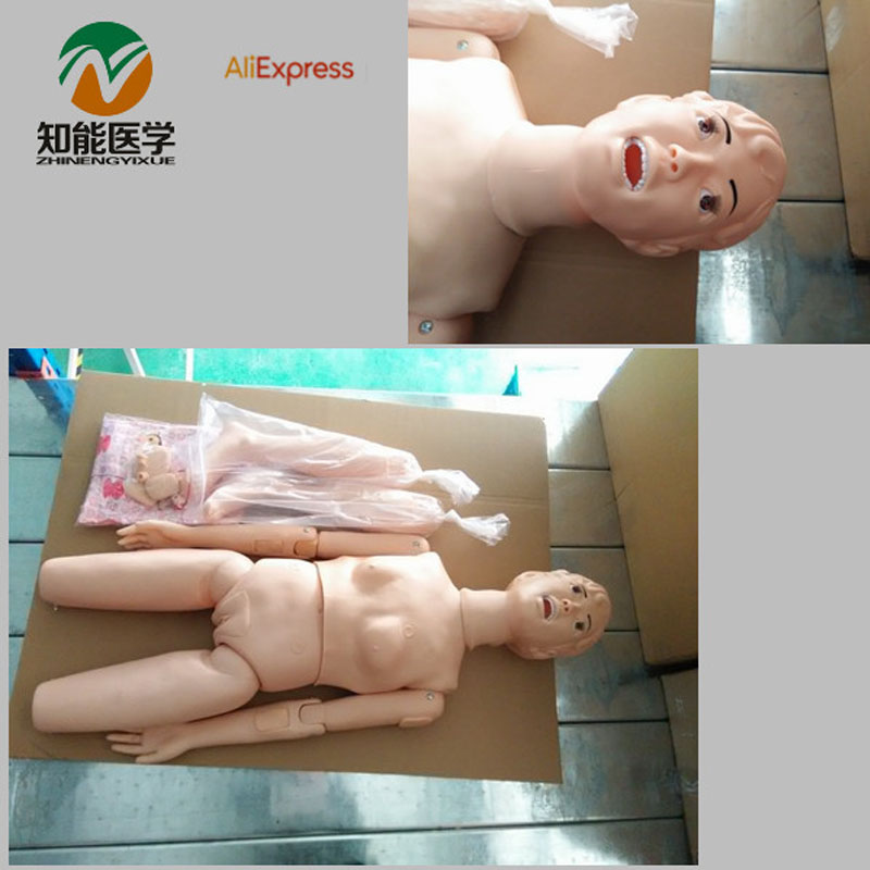 BIX-H1 nouveau Type d'instruments médicaux multifonctionnels de modèle de pratique infirmière (femme) W073