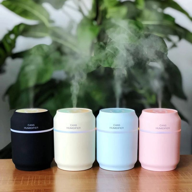 HOT!Portable 3-in-1USB Humidifier;Fan ;LED Nightlight Ultrasonic Small Air HumidifierHOT!Portable 3-in-1USB Humidifier;Fan ;LED Nightlight Ultrasonic Small Air Humidifier