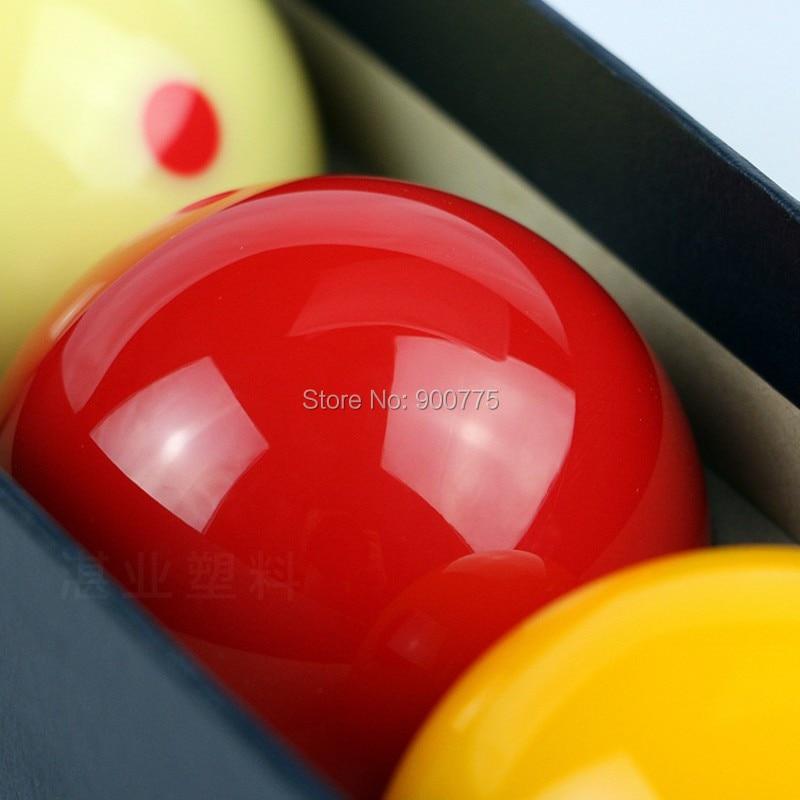 Fransk carom biljardhall- Prickig -61,5mm hartsboll 3 st / pack - Underhållning - Foto 2