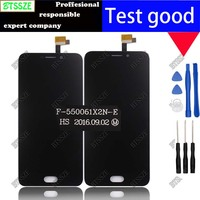 Black 5 5inch Umi Plus E LCD Dispaly Touch Screen Assembly 100 Original Digitizer Glass Panel