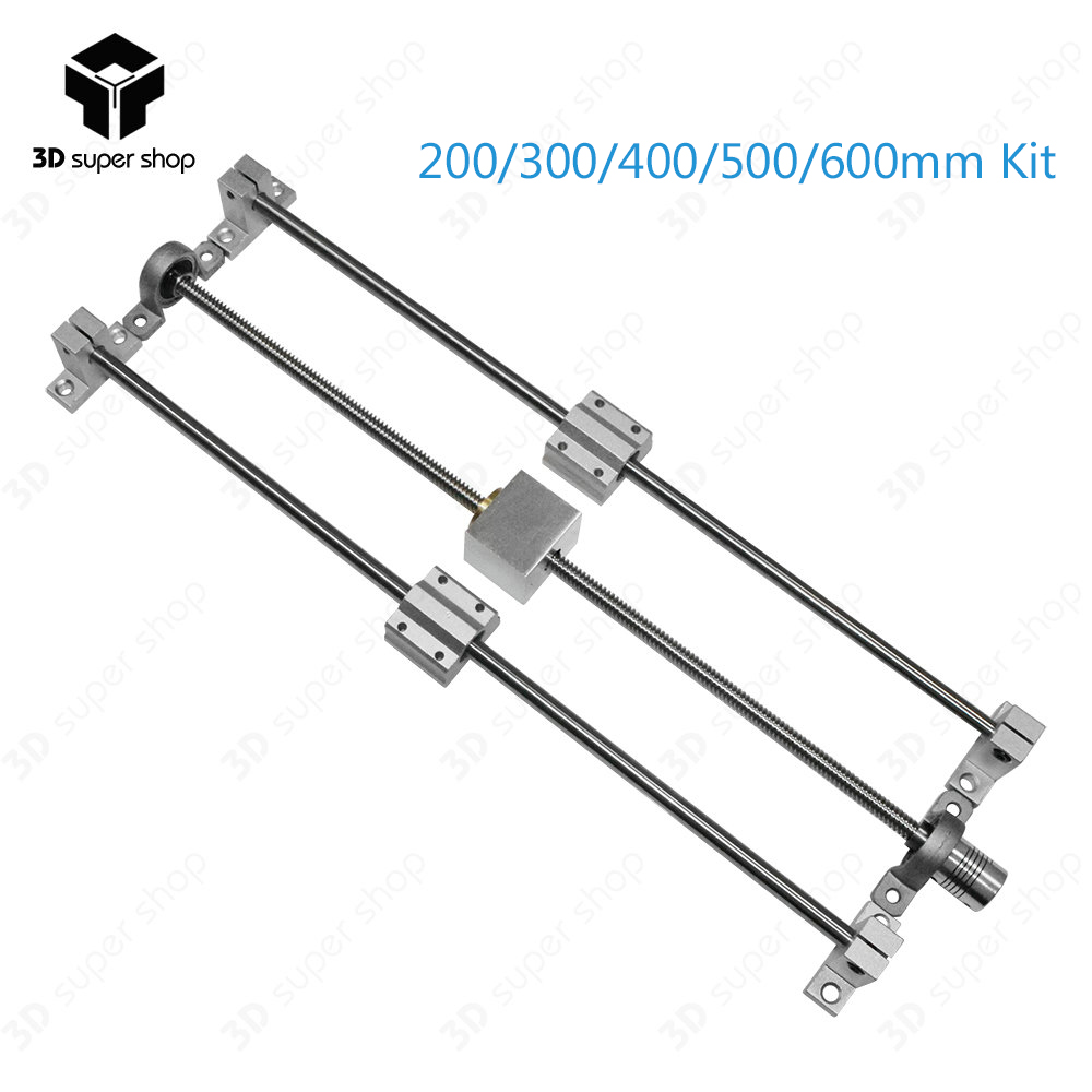 T8 Lead Screw 200mm 3D printer Guide rail parts KP08