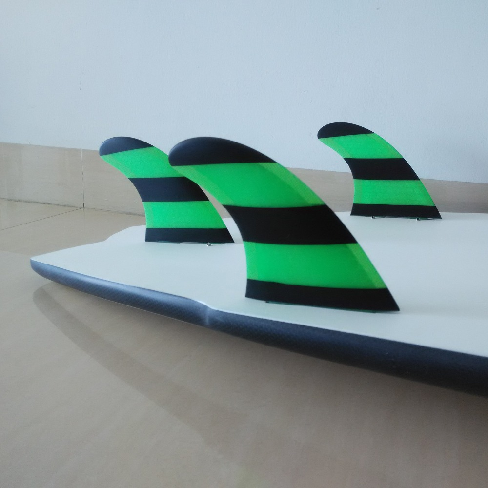 prancha quilhas de Surf FCS Fin G5 / G7 suurus kärgstruktuuri - Veesport - Foto 5