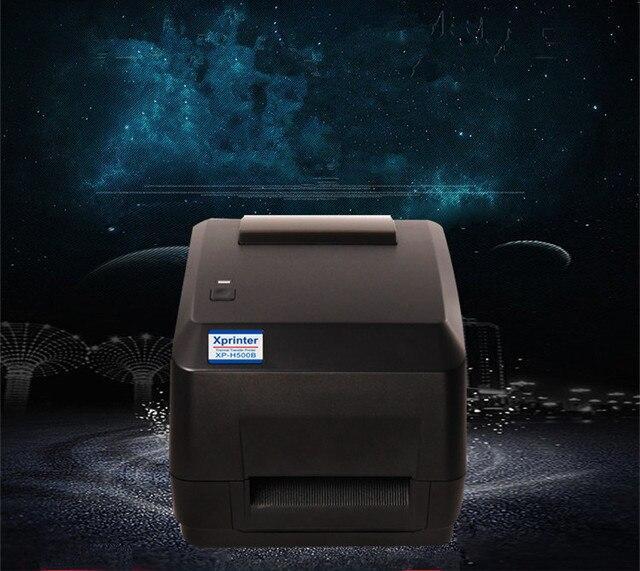 H500B Экспресс Электронной Почты Бао электронных поверхности двухмерный штрих-код наклейки код наклейки термопринтер этикеток